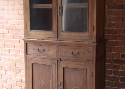 2 piece cupboard F43/1 | H: 2032mm L:1163mm W:  430mm